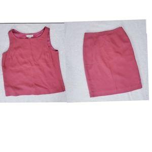 Amanda Smith 2pc skirt  suit size 6p
